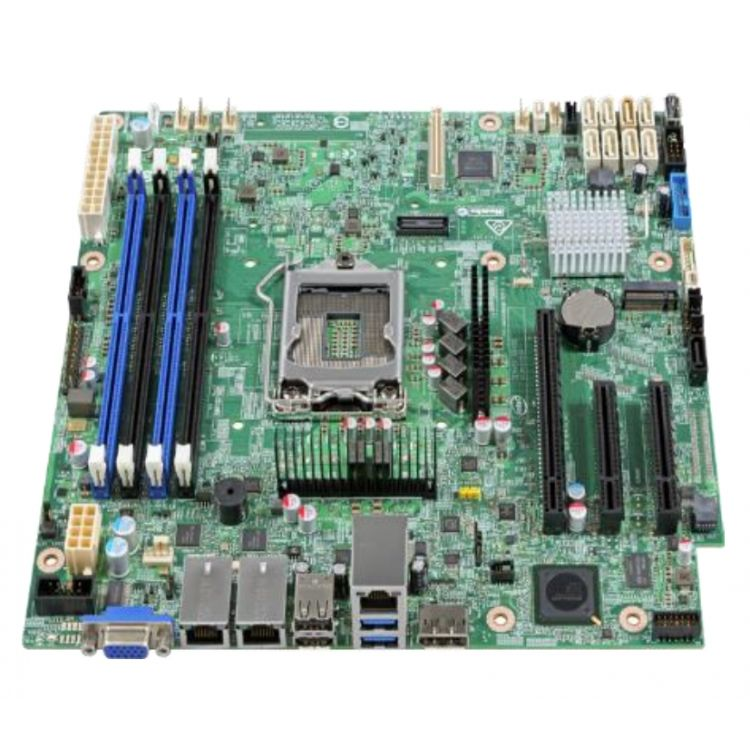 Intel S1200SPOR server/workstation motherboard Intel® C236 microATX
