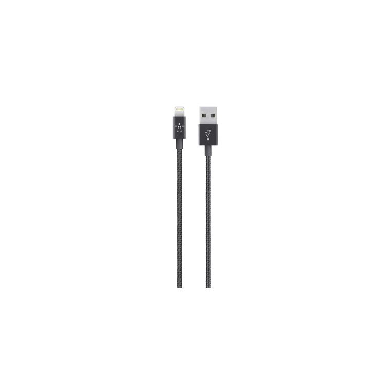 1.2M LIGH USB CABLE FOR IPHONE BLK