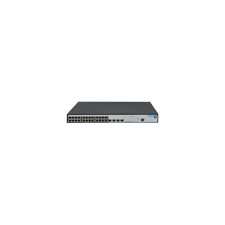 Hewlett Packard Enterprise 1920-24G-PoE+ (370W) Managed L3 Gigabit Ethernet (10/100/1000) Grey Power over Ethernet (PoE)