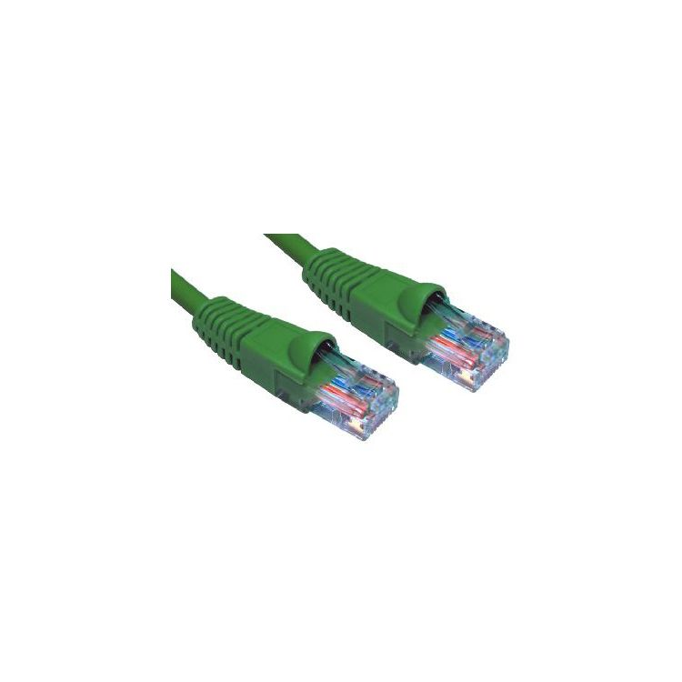 Cables Direct Cat6, 5m, LSOH networking cable U/UTP (UTP) Green
