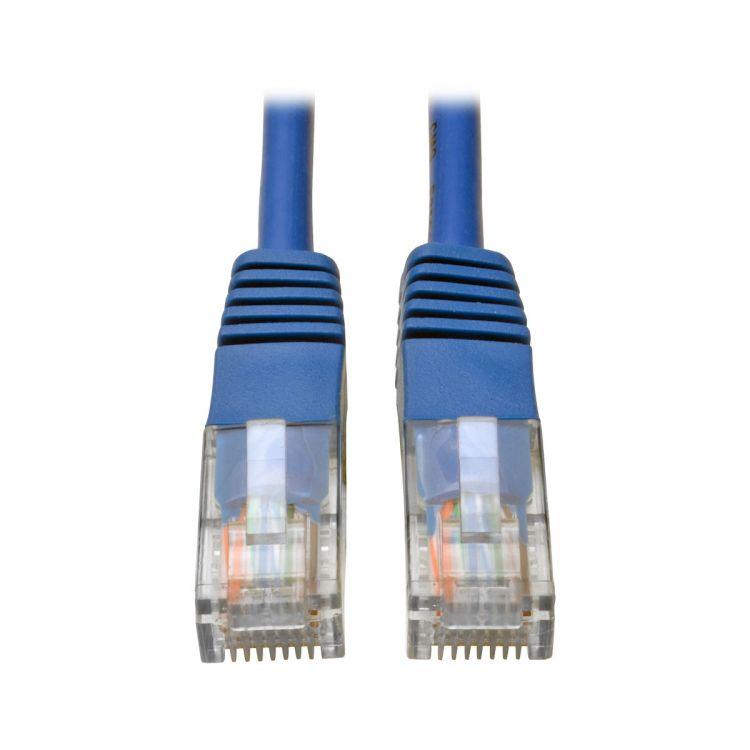 Tripp Lite Cat5e 350MHz Molded Patch Cable (RJ45 M/M) - Blue, 1.52 m