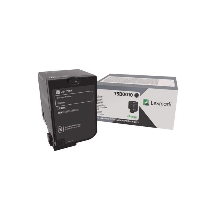 Lexmark 75B0010 toner cartridge Original Black 1 pc(s)