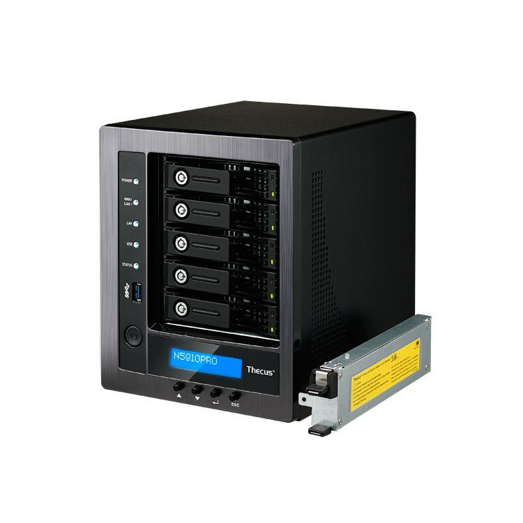 Origin Storage Thecus N5810PRO Ethernet LAN Tower Black NAS