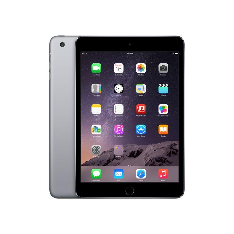 Apple iPad mini 3 tablet A7 128 GB 3G 4G Grey