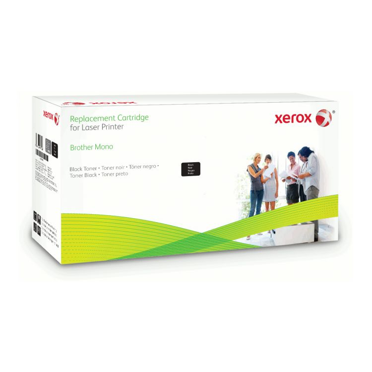 Xerox Drum cartridge. Equivalent to Brother DR2200. Compatible with Brother DCP-7060D, DCP-7065DN, HL-2240/HL-2240D, HL-2250DN, HL-2270DW, MFC-7360N/7460DN/7860DW