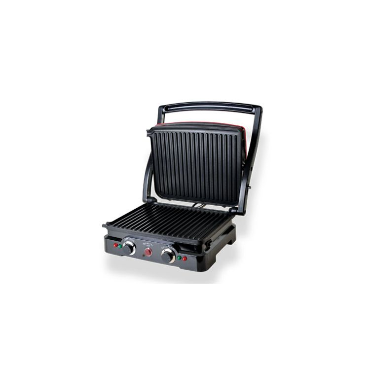 DCG Eltronic ST4000 outdoor barbecue/grill 2000 W Electric Tabletop Black,Red