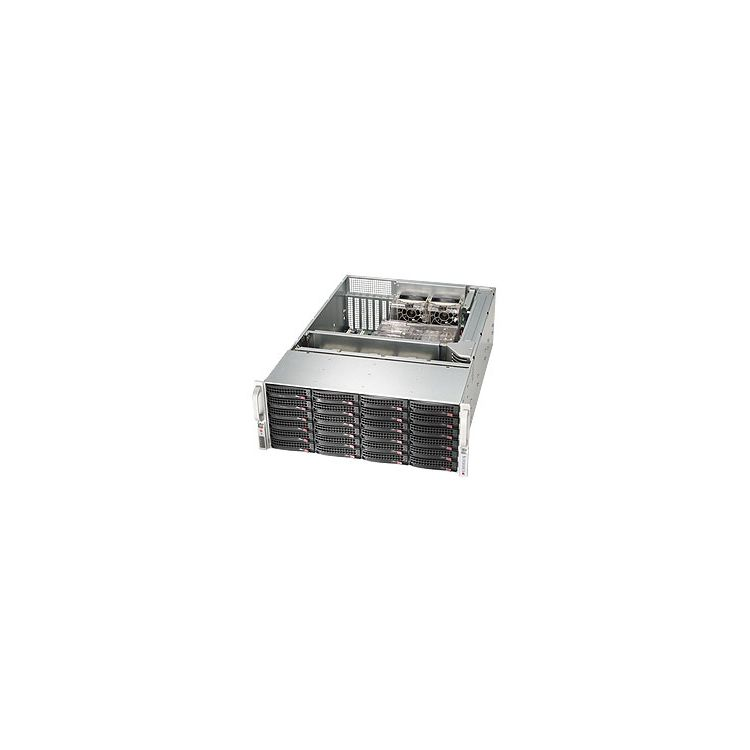 Supermicro SuperChassis 846BE16-R920B computer case Rack Black 920 W