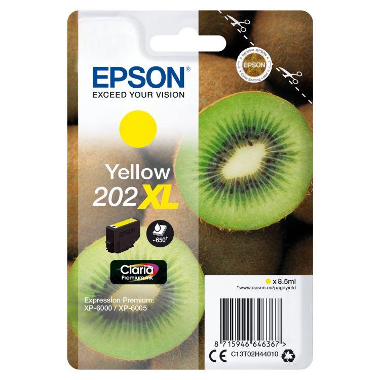 Epson Singlepack Yellow 202XL Claria Premium Ink