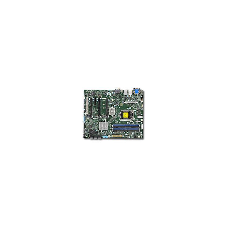 Supermicro X11SAT-F server/workstation motherboard LGA 1151 (Socket H4) Intel® C236 ATX