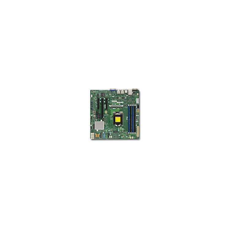 Supermicro X11SSL server/workstation motherboard LGA 1151 (Socket H4) Intel® C232 microATX