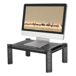 Newstar Laptop or Monitor Stand/Riser, Height Adjustable