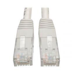 Tripp Lite 2.13 m Cat6 Gigabit Molded Patch Cable RJ45 M/M 550MHz 24 AWG White