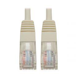 Tripp Lite Cat5e 350MHz Molded Patch Cable (RJ45 M/M) - White, 14-ft.