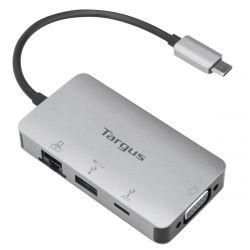 Targus DOCK417USZ notebook dock/port replicator Wired USB 3.2 Gen 2 (3.1 Gen 2) Type-C Gray
