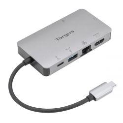Targus DOCK419 Wired USB 3.2 Gen 1 (3.1 Gen 1) Type-C Gray