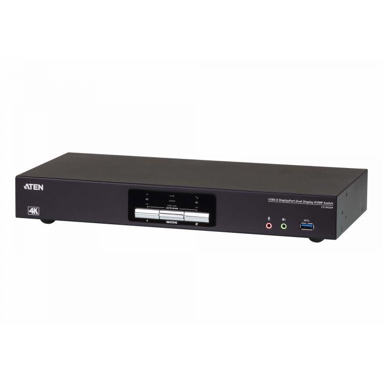 Aten CS1942DP KVM switch Black