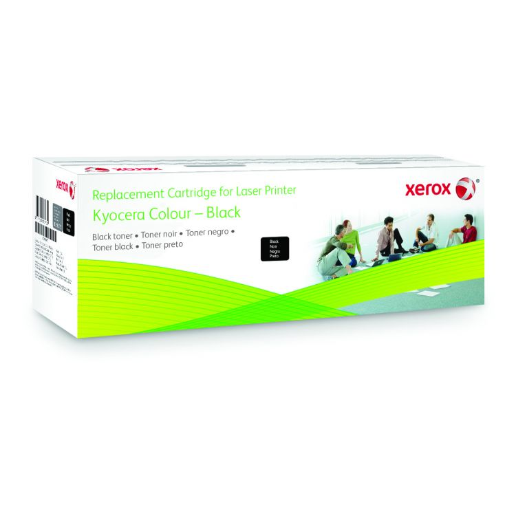 Xerox Black toner cartridge. Equivalent to Kyocera TK-340. Compatible with Kyocera FS-2020