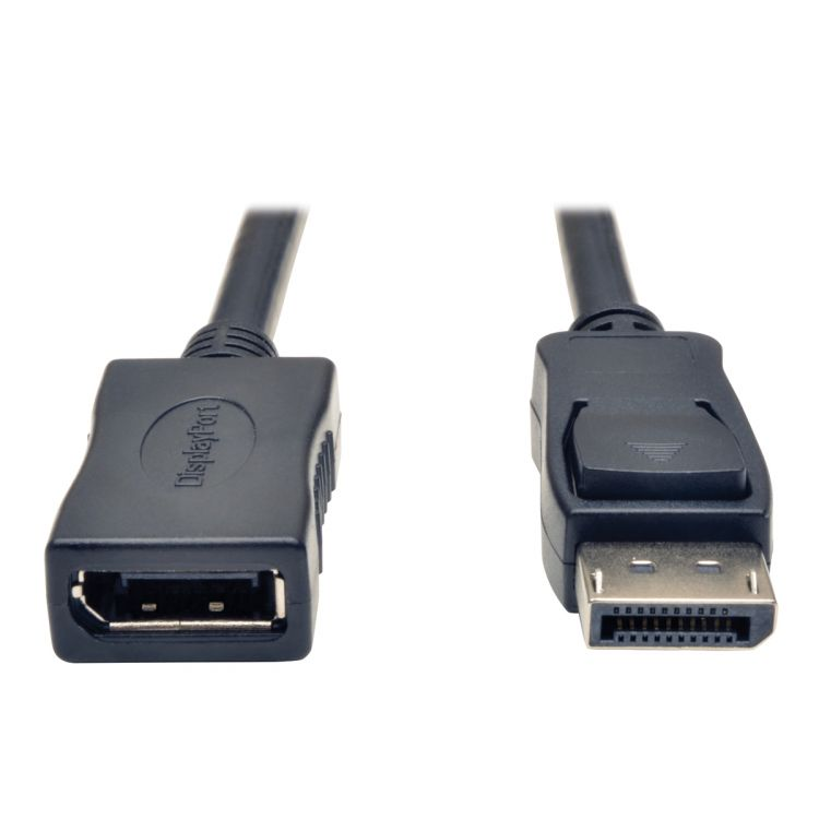 Tripp Lite DisplayPort Extension Cable with Latches (M/F), 1.83 m