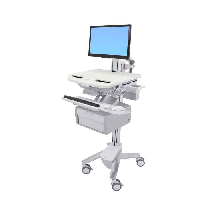 Ergotron StyleView Multimedia cart White Flat panel