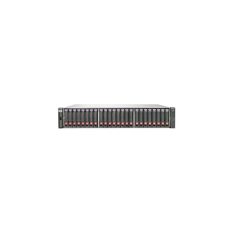 Hewlett Packard Enterprise StorageWorks P2000 G3 FC MSA Dual Controller Virtualization SAN Starter Kit disk array Rack (2U)