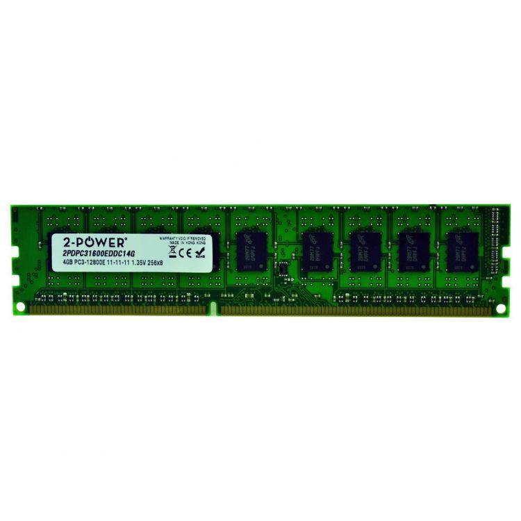 2-Power 4GB DDR3L 1600MHz ECC + TS UDIMM Memory - replaces A7303660