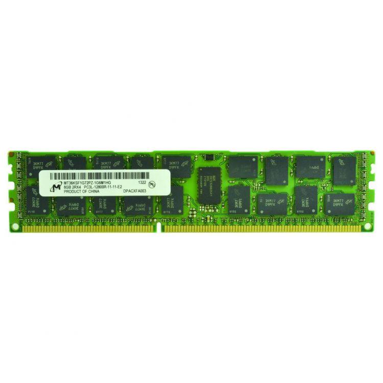 2-Power 8GB DDR3L 1600MHz ECC RDIMM 2Rx4 Memory - replaces CT8G3ERSLD4160B