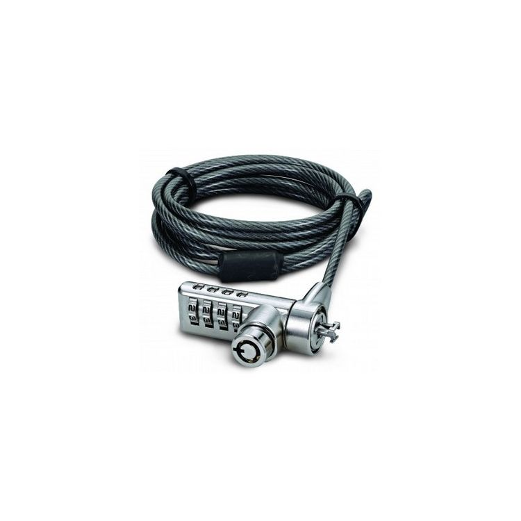 Dicota D30887 cable lock Black,Stainless steel 2 m