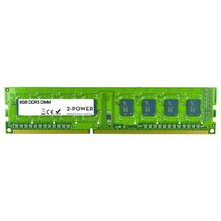 2-Power 8GB MultiSpeed 1066/1333/1600 MHz DIMM Memory - replaces 689375-001