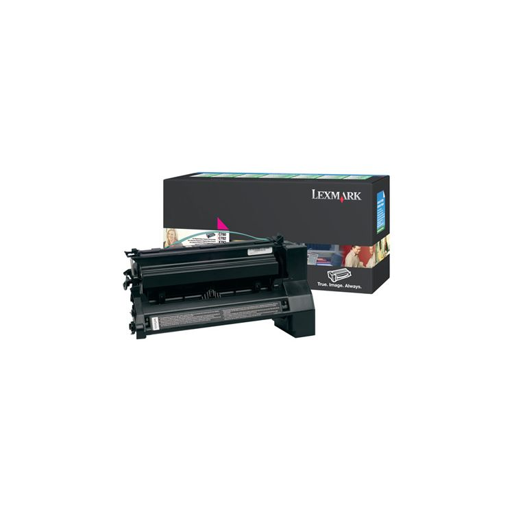 Lexmark C780, C782 Magenta Return Program Print Cartridge Original