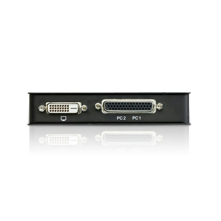 2 port USB DVI DesktopKVM Switch