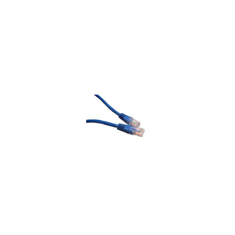 Cables Direct Cat5e UTP 10m networking cable Blue