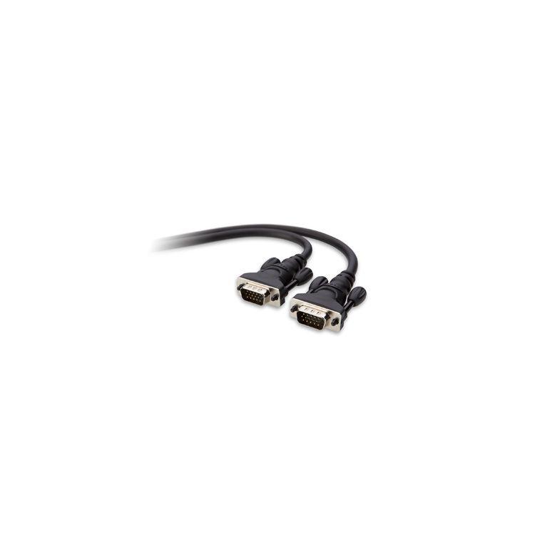 Belkin VGA 2m VGA cable VGA (D-Sub) Black
