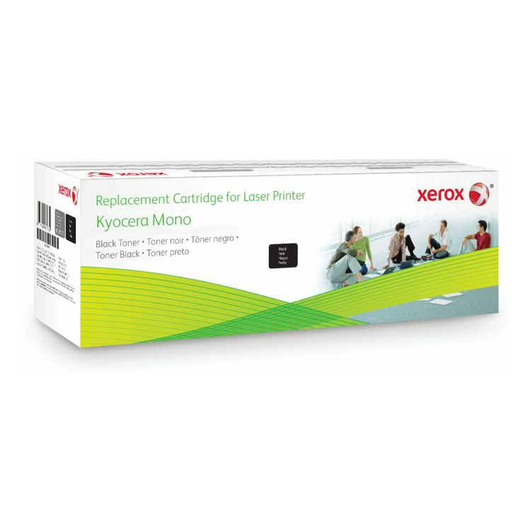 Xerox Black toner cartridge. Equivalent to Kyocera TK-160. Compatible with Kyocera FS-1120D/1120DN