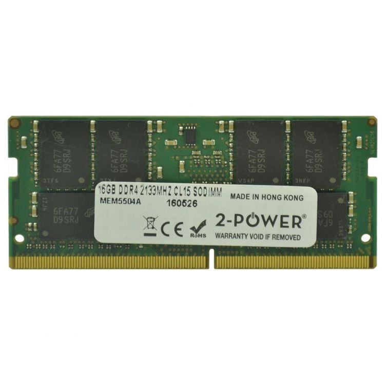2-Power 16GB DDR4 2133MHZ CL15 SoDIMM Memory - replaces 4X70J67438