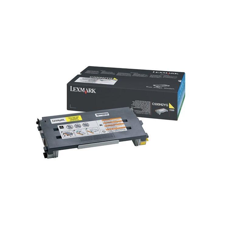 Lexmark C500H2YG toner cartridge Original Yellow 1 pc(s)