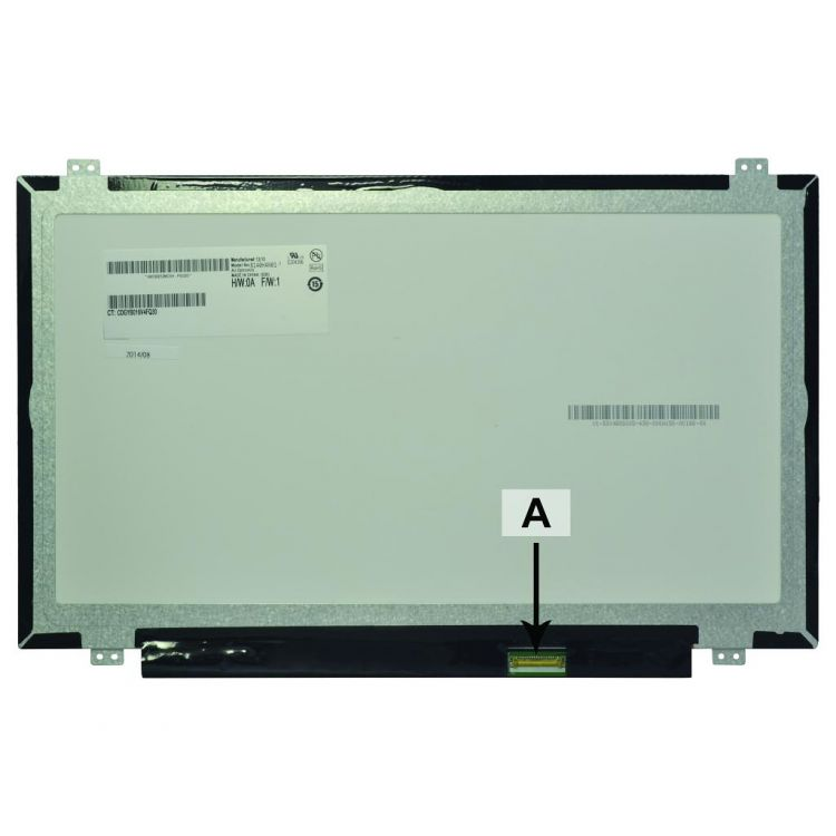 2-Power 14.0 WUXGA 1920X1080 LED Matte w/IPS Screen - replaces 806362-001
