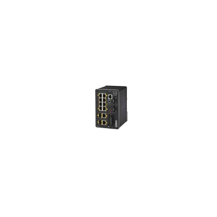 Cisco IE-2000-8TC-L network switch Managed L2 Fast Ethernet (10/100) Black