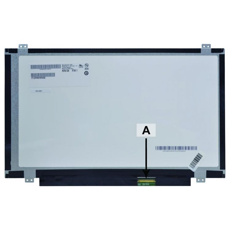 2-Power 14.0 WXGA HD 1366x768 LED Matte Screen - replaces 0A66653