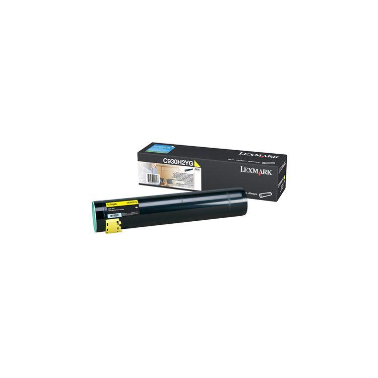 Lexmark High-Capacity Yellow Toner Cartridge for C935 Original