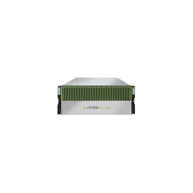 Hewlett Packard Enterprise Nimble Storage CS1000H disk array 11.96 TB Rack (4U) Black,Green,Silver