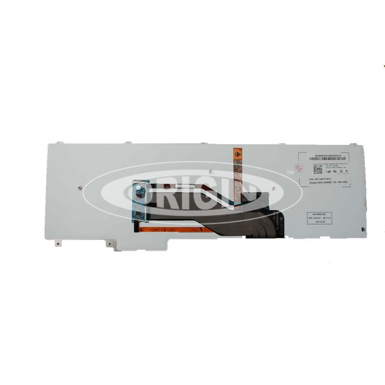 Origin Storage N/B KBD- Latitude E6520 Norway Layout 105 Keys Backlit Dual Point