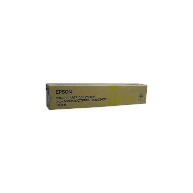 Epson AL-C8500/8600 Toner Cartridge Yellow 6k