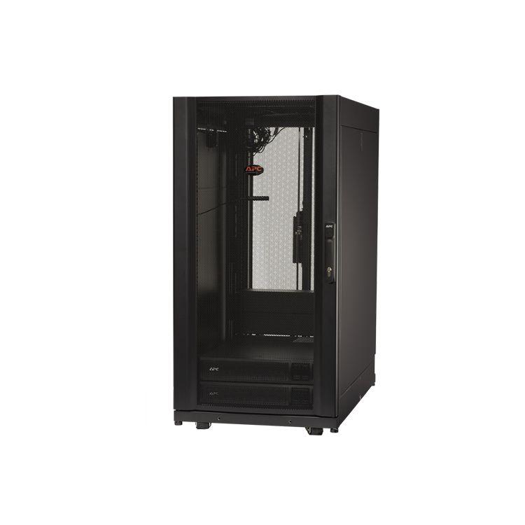 APC MDC24SX3KVAI rack 1363.64 kg Freestanding rack 24U Black