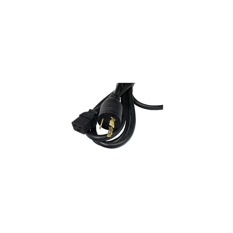 Hewlett Packard Enterprise C19 / NEMA L6-20P NA/JP 3.6m power cable Black C19 coupler