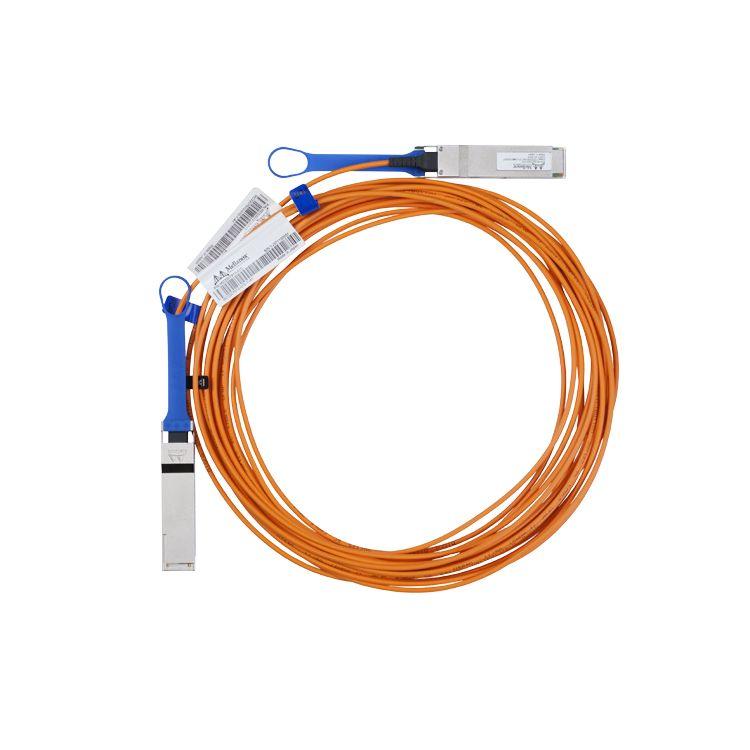 Mellanox Technologies LinkX InfiniBand cable 15 m QSFP Orange