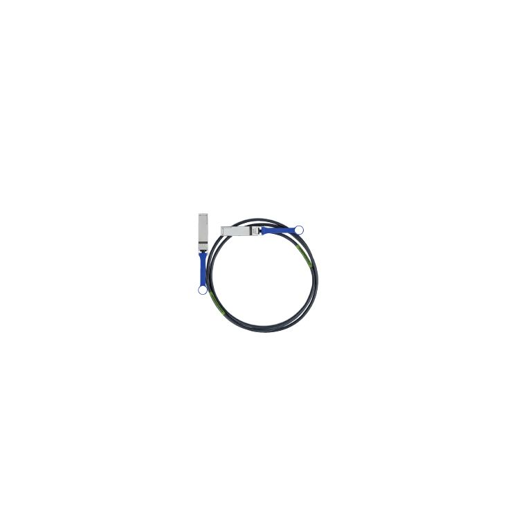 Mellanox Technologies 2m QSFP InfiniBand cable Black