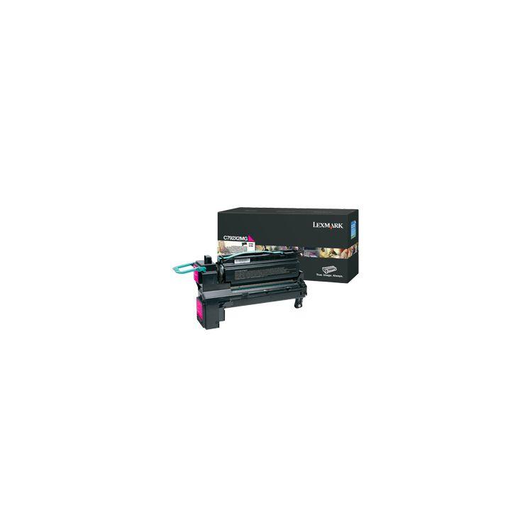 Lexmark C792X2MG toner cartridge Original Magenta 1 pc(s)