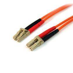 StarTech.com Fiber Optic Cable - Multimode Duplex 50/125 - LSZH - LC/LC - 2 m